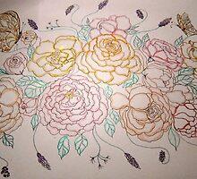 St. Valentines Bouquet by Gea Austen