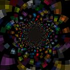 The Deep Inside In To The Galaxy Of Colors by NikunjVasoya