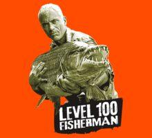 Jeremy Wade - Level 100 Fisherman Kids Clothes