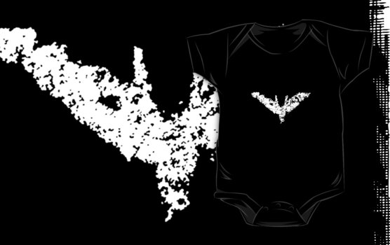 Batman 'Chalk Bat Signal' from The Dark Knight Rises by electricFIELD
