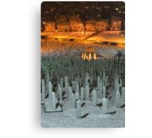 Civil War Cemetery Canvas Print