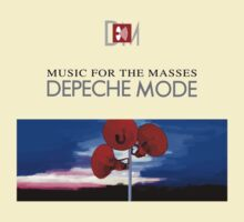 Depeche Mode Music For The Masses Paint 2 by Luc Lambert