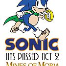 Sonic Has Passed Act 2 - Mines of Moria by RetroReview