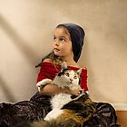 Feline friend by Bill Gekas