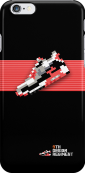 8-bit Air Max 90 for iPhone 5 by 9thDesignRgmt