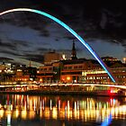 Millennium Bridge by Great North Views