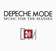 Depeche Mode : Music For The Masses Logo 2 by Luc Lambert