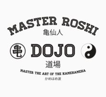 Master Roshi Dojo v1 Kids Clothes