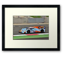 Gulf Racing Middle East No 29 Framed Print