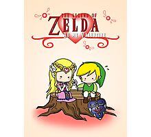 The Legend of Zelda : Valentine's day Photographic Print