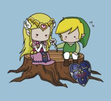 Zelda X Link Kids Clothes