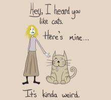 Weird Cat by Kelmo