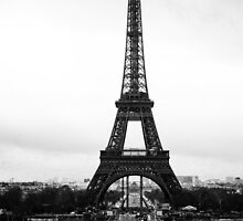 eiffel tower by richard1971