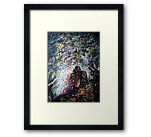 I am with my LOVE Framed Print