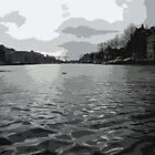 River Views In Amsterdam by Lorren Stewart