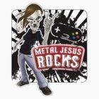 Undead Rocker - Metal Jesus Rocks by metaljesusrocks