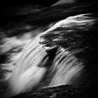 Swallow Falls - B&W by RomeoFotografia