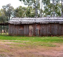 Old Dwelling! near Narromine, N.S.W. Australia. by Rita Blom
