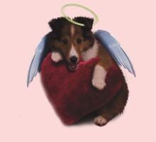 Sheltie Puppy Angel by jkartlife