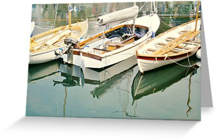 Three Little Boats by Judi Rustage