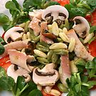 Cavatelli Misti And Smoked Trout With Salad by SmoothBreeze7