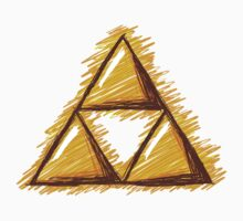 Sketchy Triforce by Sarinilli