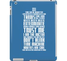 The Doctor Tardis iPad Case/Skin