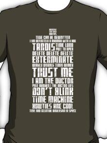 The Doctor Tardis Grunge version T-Shirt