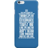 The Doctor Tardis Grunge version iPhone Case/Skin