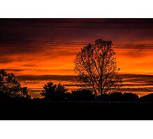 Cranny Sunrise Photographic Print