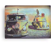 Bus N Bug Canvas Print