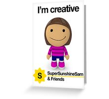 Super Sunshine Sam & Friends - Paola Greeting Card