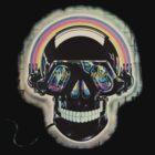 Jazzed up skull by AmitArt