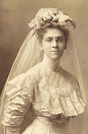 Cousin Lu ~ Bride-To-Be, 1908 by artwhiz47