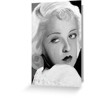 Bette Davis Greeting Card