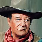 John Wayne by artbyjames