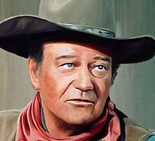 John Wayne by artbyjames