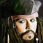 Johnny Depp by artbyjames