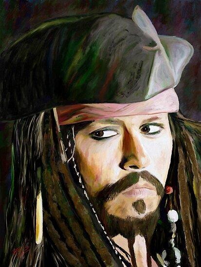 Johnny Depp by artbyjames