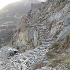 Stone stairs by parvmos