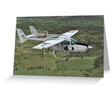 Cessna O-2 Skymaster Greeting Card