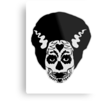 Day of The Dead Bride Metal Print