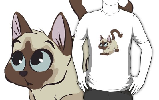 Siamese Cat by davuu