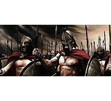 Spartans 3 Photographic Print