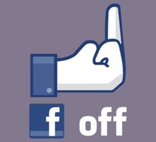 Facebook finger, F*ck Off! by MrYum