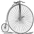 1867 Penny Farthing Bicycle by Look Human