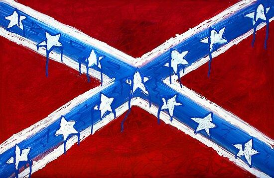 Rebel Flag by Laura Barbosa