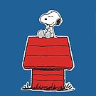 Snoopy Always Happy by gleviosa
