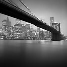 Brooklyn Bridge, Study 5 by Randy  Le'Moine