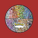 All Pokemons in Pokeball by gleviosa